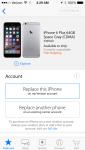 iPhone AppleStore App - iPhone 6 unavailable