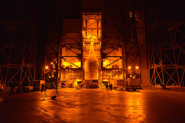 Click the image for info on this first unmanned launch and mission.