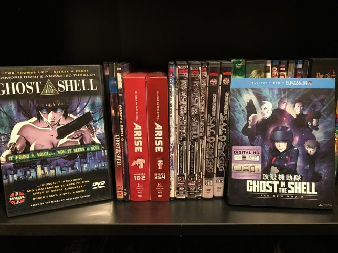 My Ghost in the Shell collection...