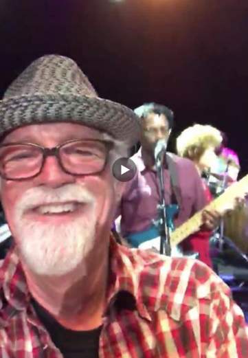 2018-05-05 Paul Quinby at Angelique Kidjo concert at the theater at the Ace Hotel. Celebrate the good times