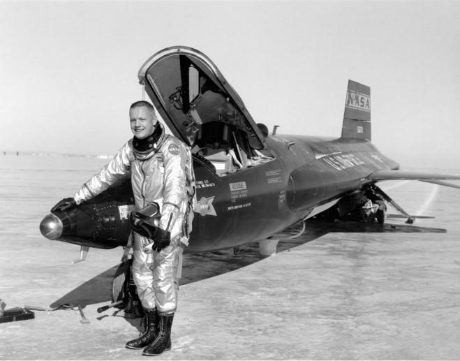 Neil Armstrong - x15-pilot